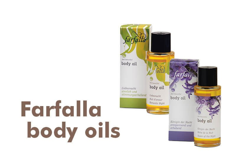 Farfalla body oils