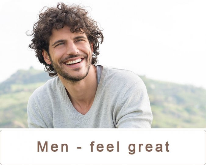 men feel great