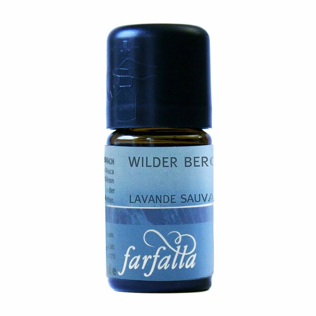 Berglavendel wild, bio, Grand Cru, 5ml