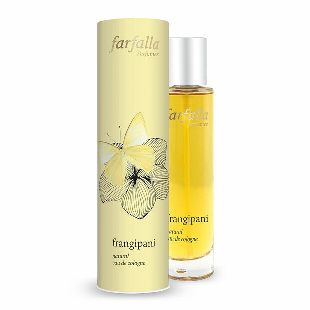 frangipani, Natural Eau de Cologne, 50ml