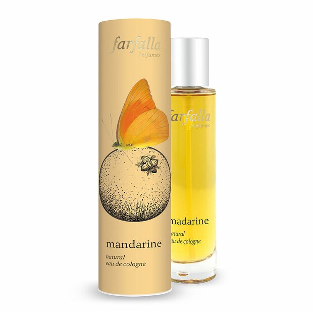 mandarine, Natural Eau de Cologne, 50ml