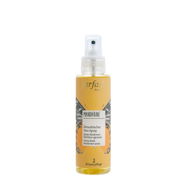 Deo-Spray Mandarine, Zitrusfrische, 100ml