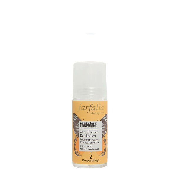 Deo Roll-on Mandarine, Zitrusfrische, 50ml