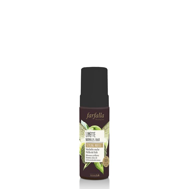 Natural Hair Care, Styling Mousse - Limette, 150ml