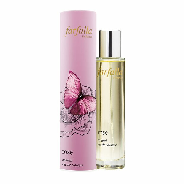 rose, Natural Eau de Cologne, 50ml